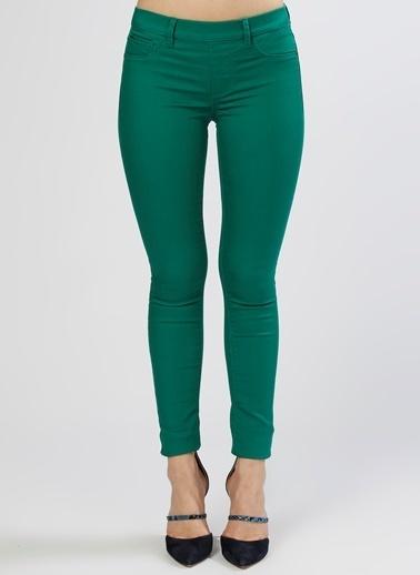Only Only Skinny Yeşil Denim Pantolon Yeşil